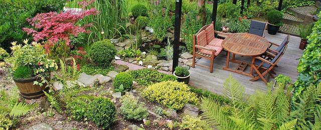 De ideale tuinmeubelen vinden voor je tuin